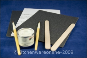 microwave oven touch up paint kit