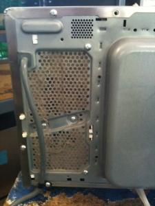 blocked air vent