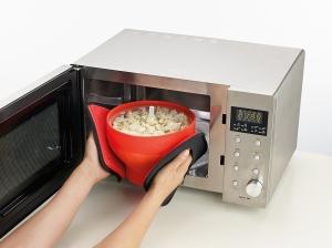 Lekue silicone popcorn maker